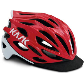 Kask Mojito X Fietshelm, red-white